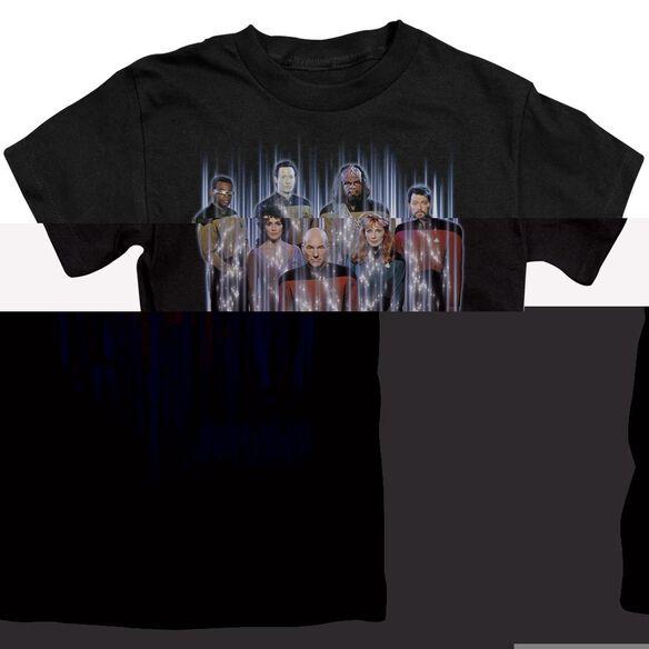 STAR TREK BEAM US UP - S/S JUVENILE 18/1 - BLACK - T-Shirt