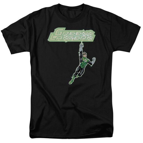 Green Lantern Energy Construct Logo Short Sleeve Adult T-Shirt