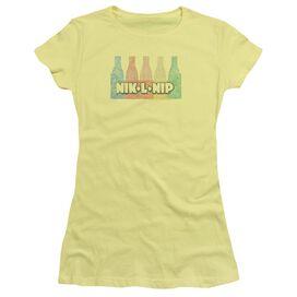 Dubble Bubble Vintage Short Sleeve Junior Sheer T-Shirt