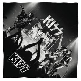 Kiss Staged Bandana White