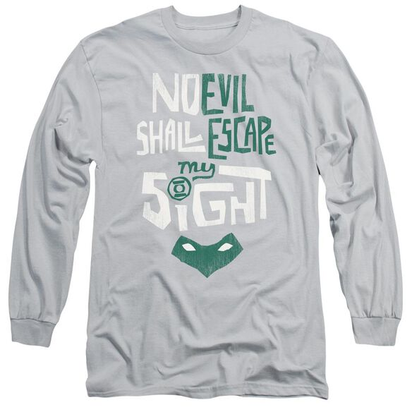 Green Lantern My Sight Long Sleeve Adult T-Shirt