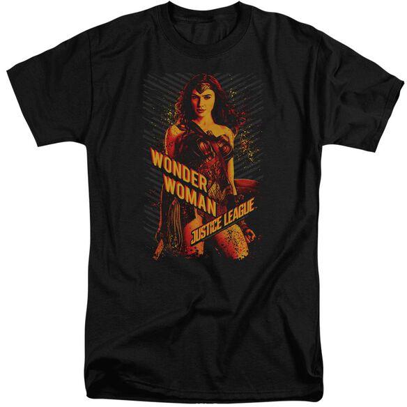 Justice League Movie Wonder Woman Short Sleeve Adult Tall T-Shirt