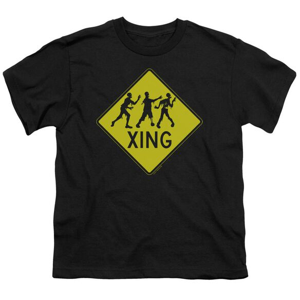 Zombie Xing Short Sleeve Youth T-Shirt