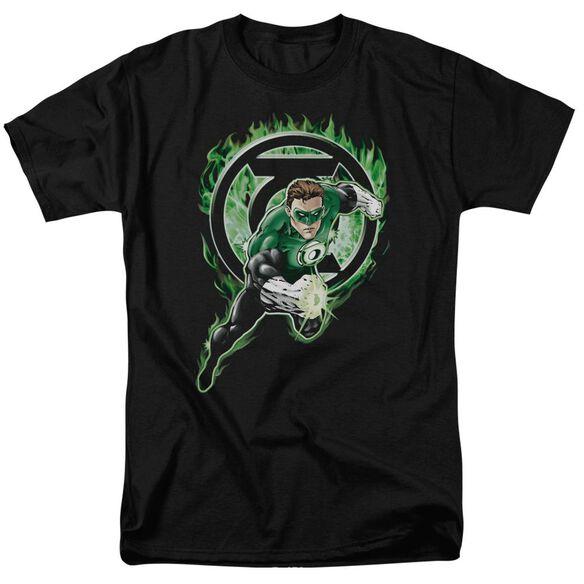 Green Lantern Space Cop Short Sleeve Adult T-Shirt