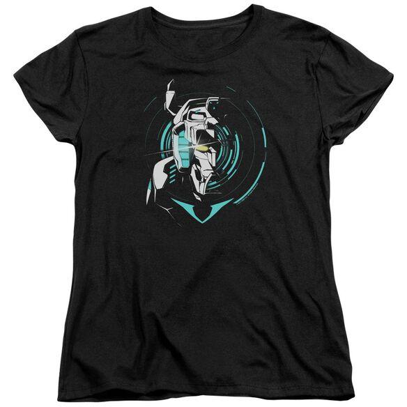 Voltron Defender Noir Short Sleeve Womens Tee T-Shirt