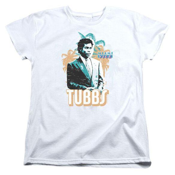 Miami Vice Tubbs Short Sleeve Womens Tee T-Shirt