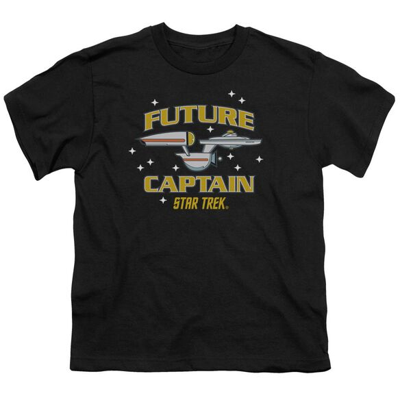 Star Trek Future Captain Short Sleeve Youth T-Shirt