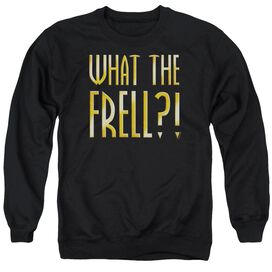 Farscape What The Frell Adult Crewneck Sweatshirt