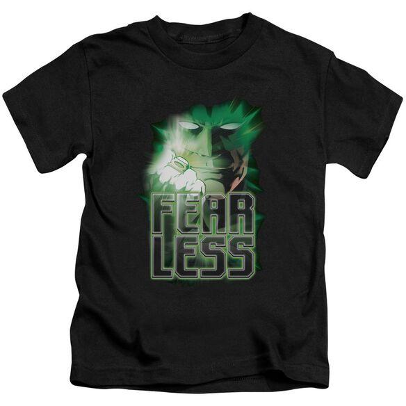 GREEN LANTERN FEARLESS - S/S JUVENILE 18/1 - BLACK - T-Shirt