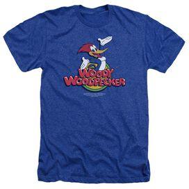 Woody Woodpecker Woody - Adult Heather - Royal Blue