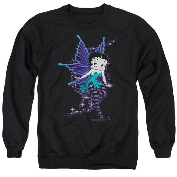 Betty Boop Sparkle Fairy Adult Crewneck Sweatshirt