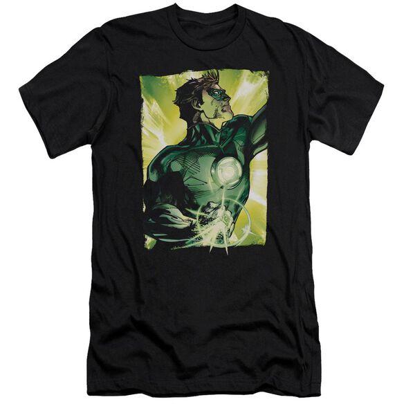 Green Lantern Up Up Premuim Canvas Adult Slim Fit