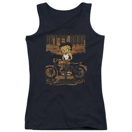 Betty Boop Rebel Rider Juniors Tank Top