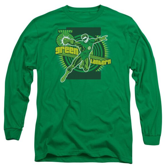 Dc Lantern Long Sleeve Adult Kelly T-Shirt