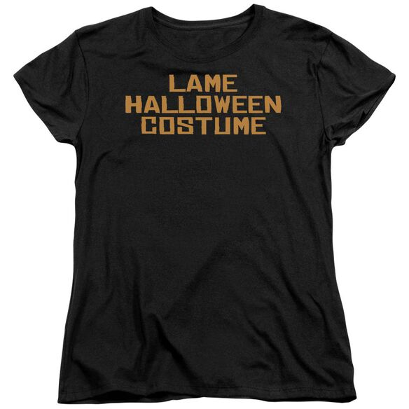 Lame Halloween Costume Short Sleeve Womens Tee T-Shirt