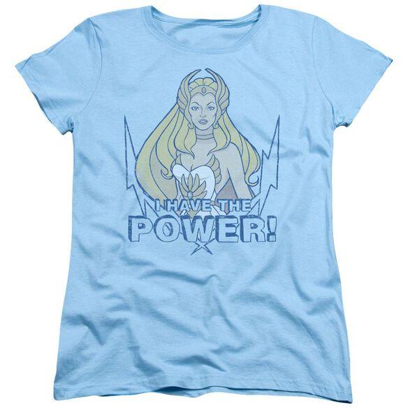 She Ra Power Short Sleeve Womens Tee Light T-Shirt