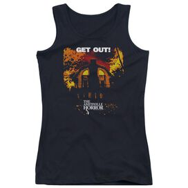 Amityville Horror Get Out Juniors Tank Top