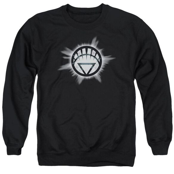 Green Lantern White Glow Adult Crewneck Sweatshirt