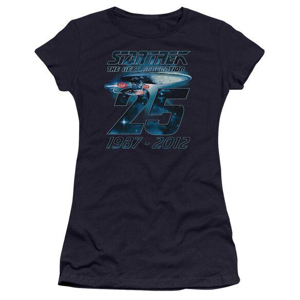 Star Trek Enterprise 25 Premium Bella Junior Sheer Jersey