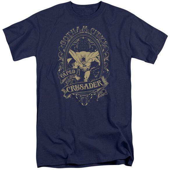 Dc Gotham Crusader Short Sleeve Adult Tall T-Shirt
