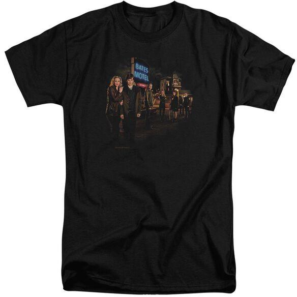 Bates Motel Cast Short Sleeve Adult Tall T-Shirt