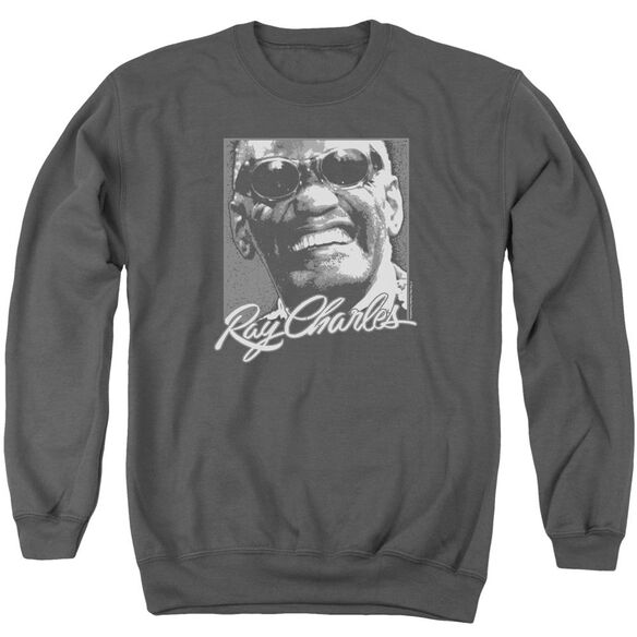 Ray Charles Signature Glasses Adult Crewneck Sweatshirt