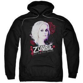 Izombie Take A Bite Adult Pull Over Hoodie