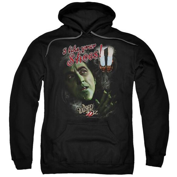 Woz I Like Your Shoes Adult Pull Over Hoodie