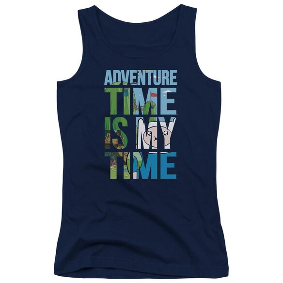 Adventure Time My Time Juniors Tank Top