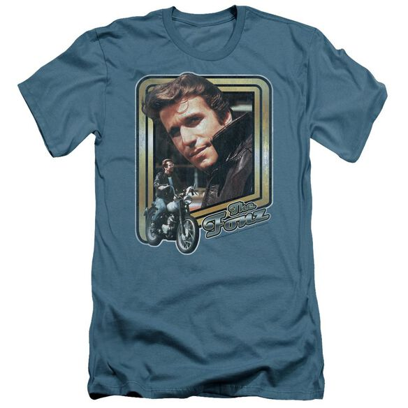 Happy Days The Fonz Short Sleeve Adult T-Shirt