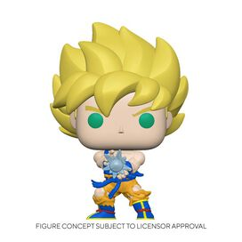 Funko Pop! Animation:Dragon Ball Z - Super Saiyan Goku w/Kamehameha (Glow)