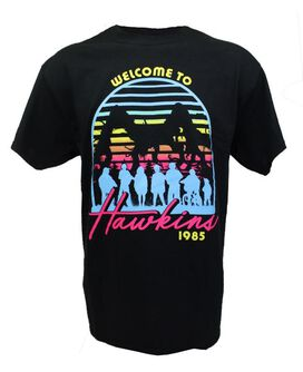 Stranger Things Welcome to Hawkins 1985 T-Shirt