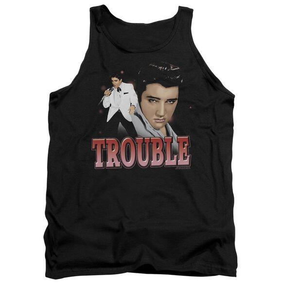 Elvis Trouble Adult Tank