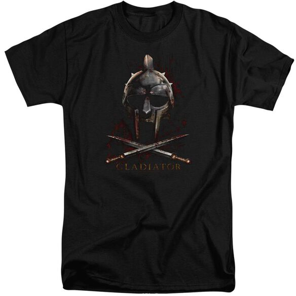 Gladiator Helmet Short Sleeve Adult Tall T-Shirt