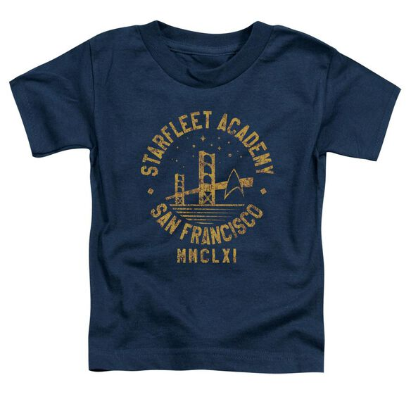 Star Trek Collegiate Bridge Short Sleeve Toddler Tee Navy T-Shirt