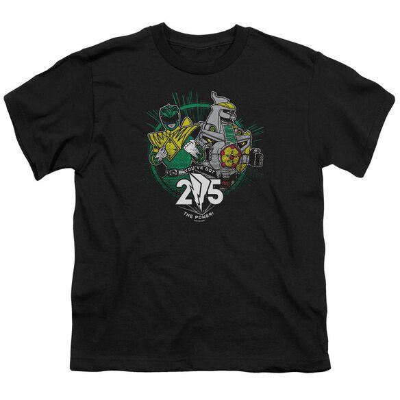Power Rangers Green 25 Short Sleeve Youth T-Shirt