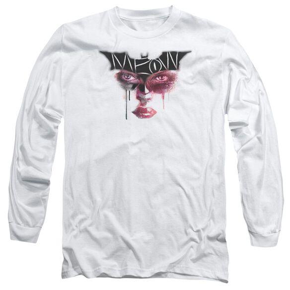 Dark Knight Rises Meow Long Sleeve Adult T-Shirt