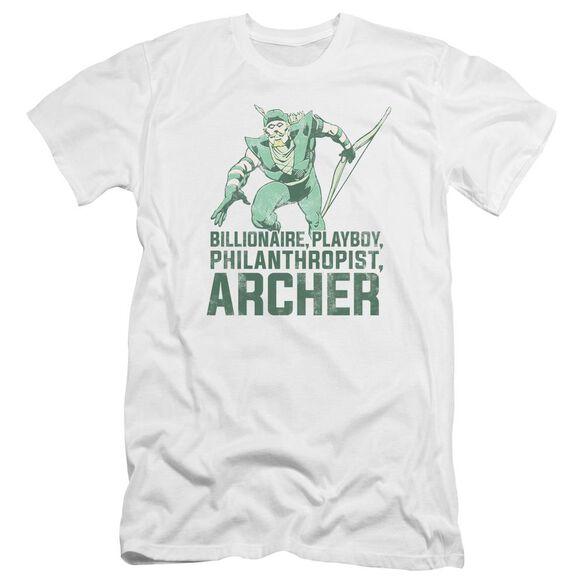Dc Archer Premuim Canvas Adult Slim Fit