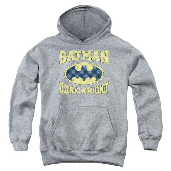 Batman Dark Knight Jersey Youth Pull Over Hoodie