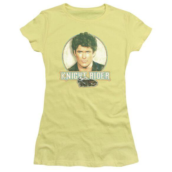 Knight Rider Vintage Short Sleeve Junior Sheer T-Shirt
