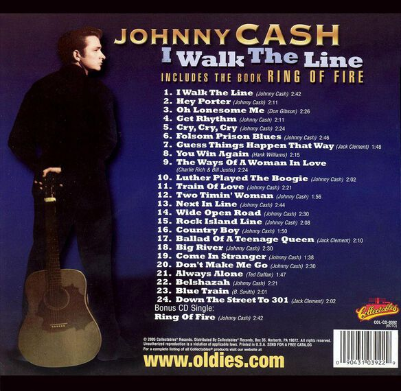 I Walk The Line (2 Cd