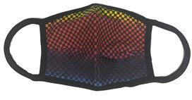 Mask Rainbow Checkered
