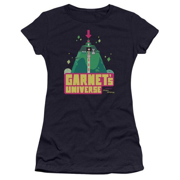 Steven Universe Garnet's Universe Hbo Short Sleeve Junior Sheer T-Shirt