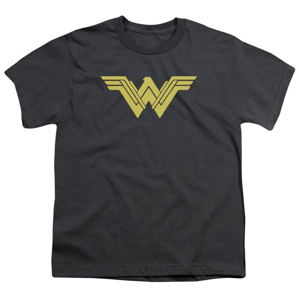 Batman V Superman Clean Line Logo Short Sleeve Youth T-Shirt