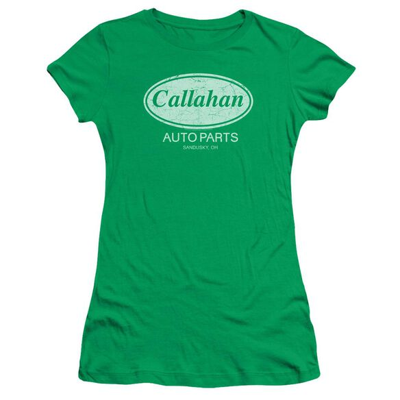 Tommy Boy Callahan Auto Short Sleeve Junior Sheer Kelly T-Shirt