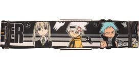 Soul Eater Group Stripes Seatbelt Belt