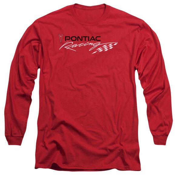 Pontiac Pontiac Racing Long Sleeve Adult T-Shirt