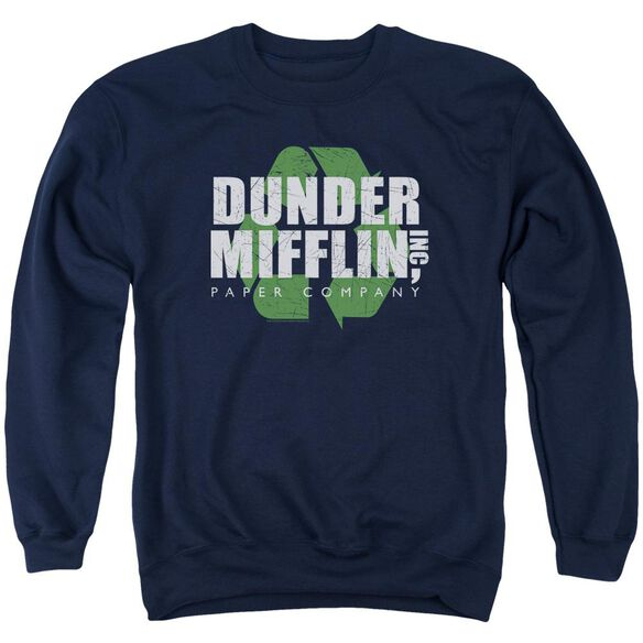 The Office Recycle Mifflin Adult Crewneck Sweatshirt