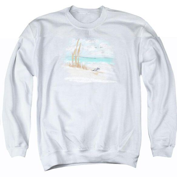 Seagulls - Adult Crewneck Sweatshirt - White