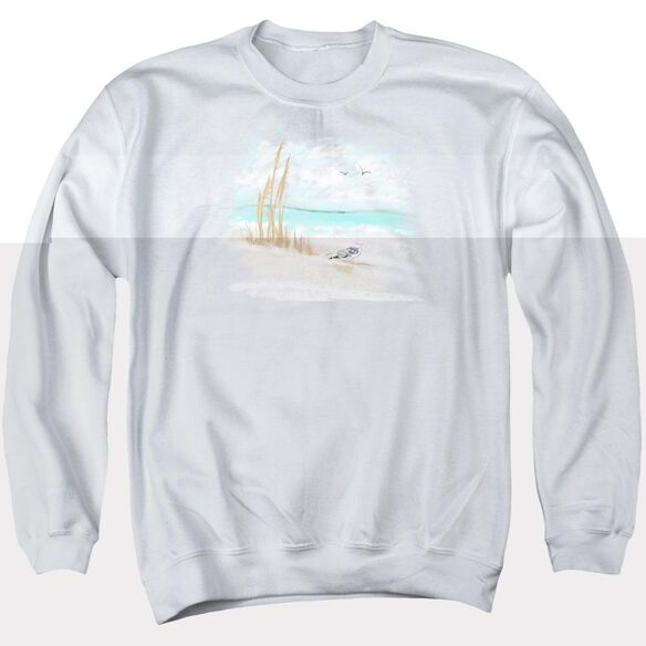 Seagulls - Adult Crewneck Sweatshirt - White